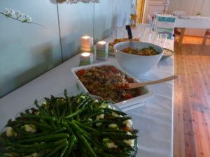 Seuramme keittiöryhmä sai taas kaikenlaista hyvää aikaiseksi.