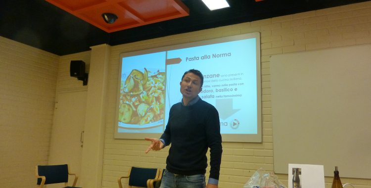 Enrico Di Nardo esitteli Italian ruokakulttuuria suoraan sydämestä.